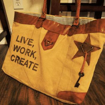 LiveWorkCreateBag