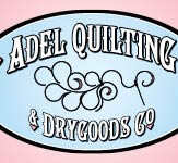 Adel Quilting & Dry Goods Logo