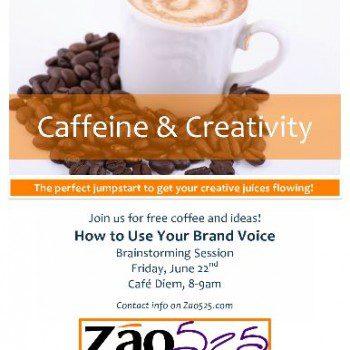 Caffeine & Creativity Poster 6.22.12 (2)