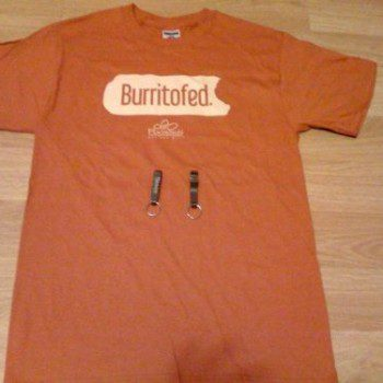 Pancheros orange t-shirt
