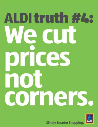 aldi marketing strategy Aldi is a systematic approach for integrating prescriptive analytics into marketing  strategy i see two important consequences of adopting the.