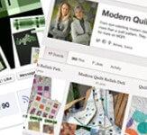Modern Quilt Relish Social Media Set-Up